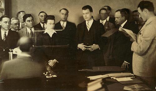 Tarzan's Dad at the Hickman Trial